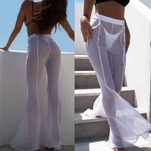 Shay Sheer Flare Pants